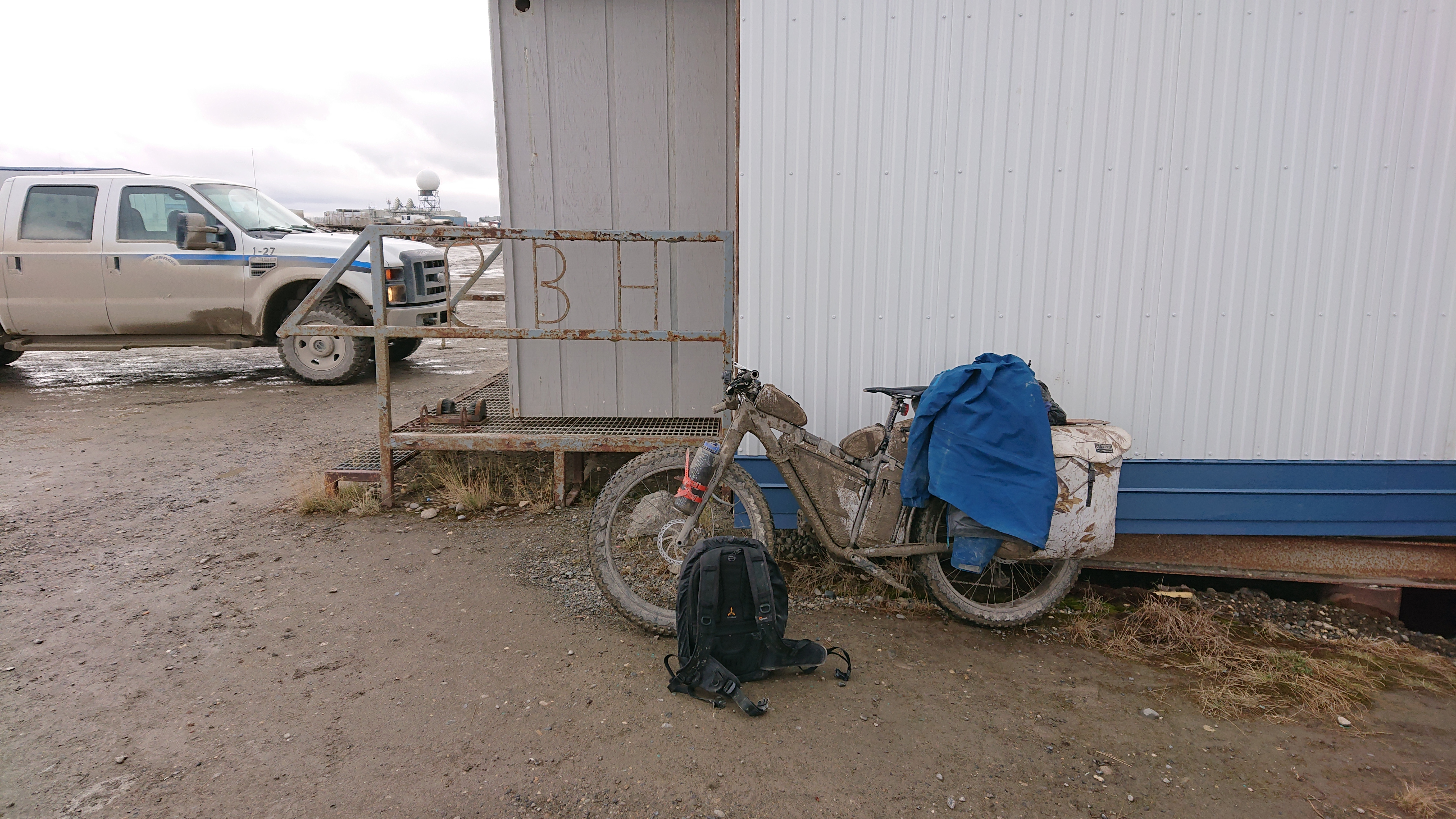 9/18 (Dalton Hwy) ~ Prudhoe Bay (Fairbanks→Prudhoe Bay , Day15)